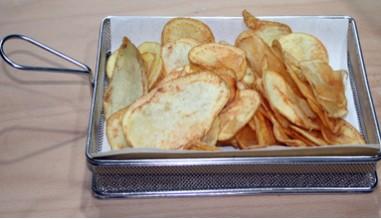 Cestino di patatine fritte